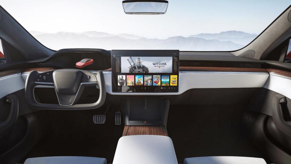 Interior Tesla Model S 2021