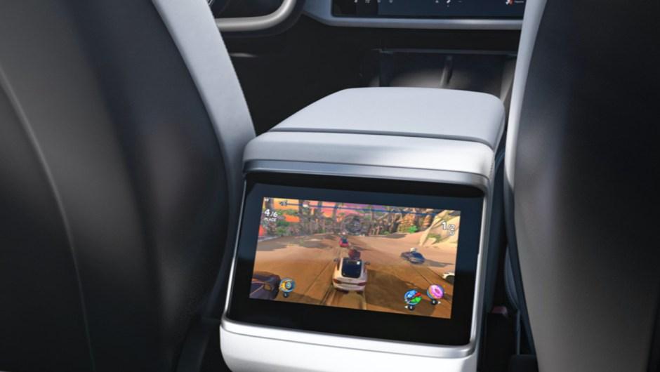 Tesla Model S 2021 pantalla