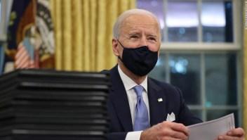 Biden firmará decretos que incluyen medidas hacia el salario mínimo de US$ 15 para trabajadores y contratistas federales