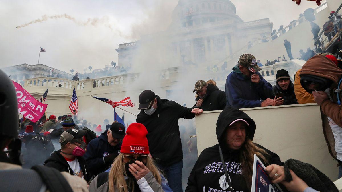 El mundo miró con horror la insurrección del Capitolio de Estados Unidos