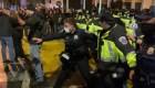 Seguidores de Trump se enfrentan con la policía en Washington