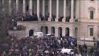 Partidarios de Trump protestan en el Capitolio