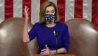 Pelosi tras asalto al Capitolio: Tenemos que seguir adelante