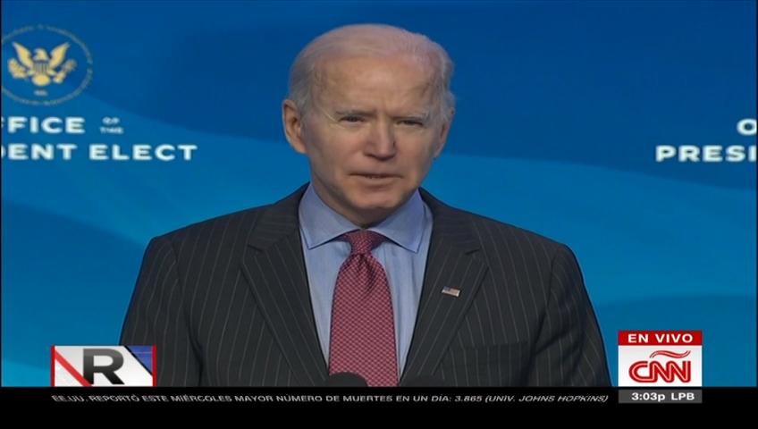Biden anuncia paridad de género en su gabinete