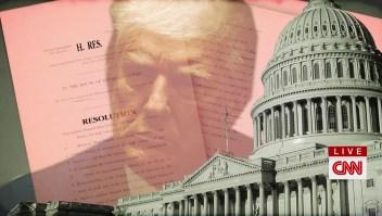 Trump, entre la destitución, el juicio y el indulto