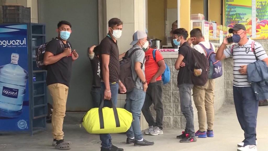 Caravana migrante busca llegar a EE.UU.