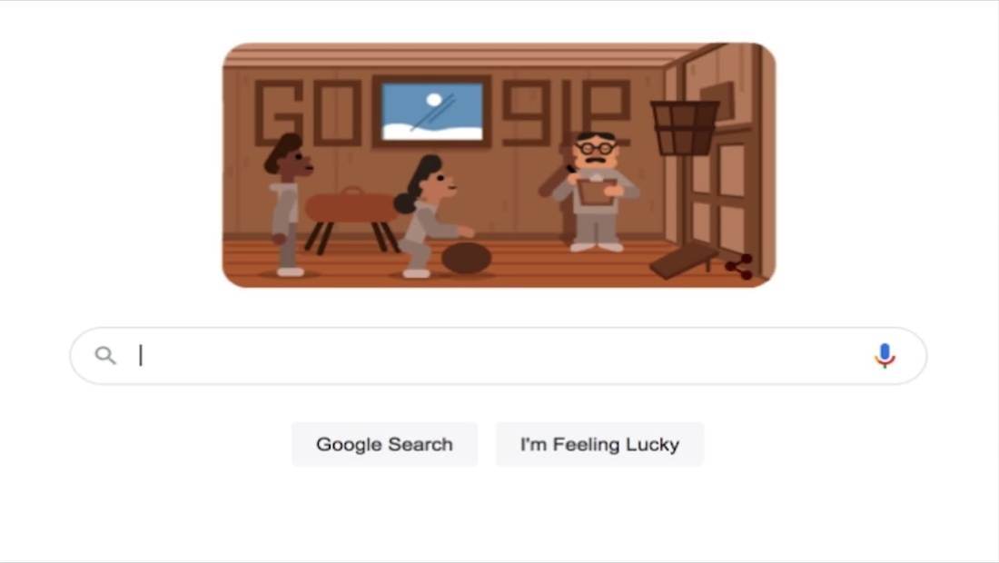 Google celebra al inventor del baloncesto