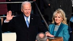 Así juró Biden como presidente de EE.UU
