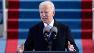 Joe Biden: Sin unidad no hay paz