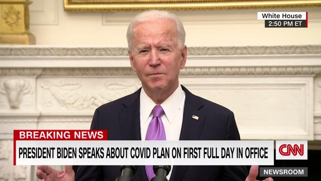 Biden dice que probablemente se llegará a 500.000 muertos de covid en EE.UU. para el mes de febrero