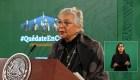 Sánchez Cordero: AMLO continuará con sus funciones