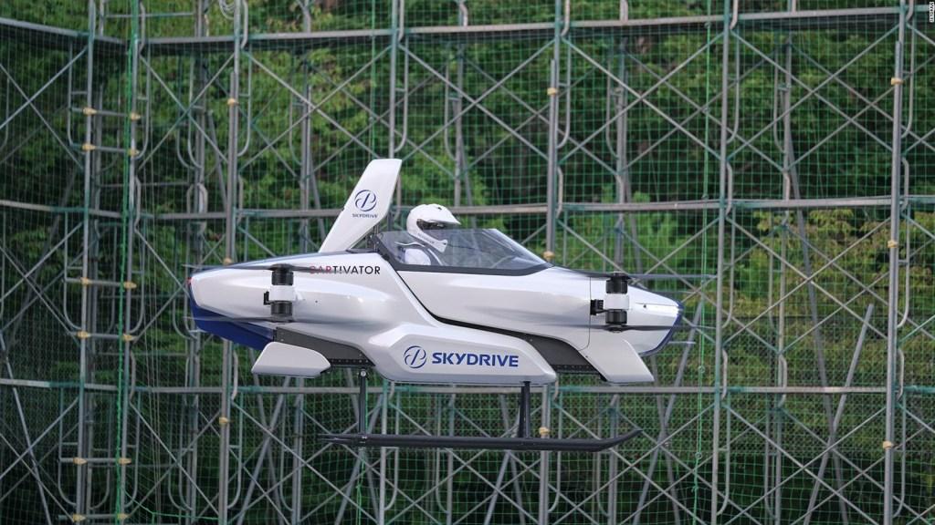 Volkswagen desarrollará autos voladores en China