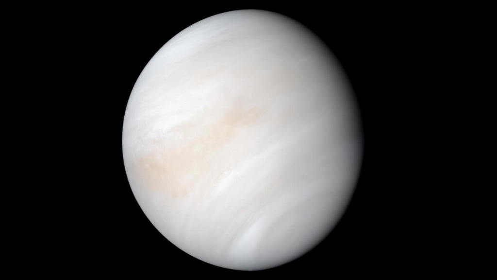 Así se ve la noche en Venus desde el espacio