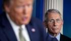 Fauci temía contraer covid-19 en la Casa Blanca de Trump
