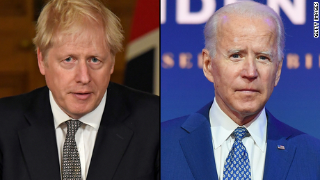 Boris Johnson elogia a Biden por volver al Acuerdo de París