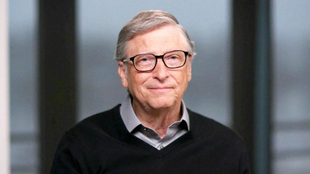 Bill Gates conversa con Oppenheimer