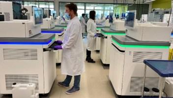 Variante covid-19 Reino Unido secuenciación