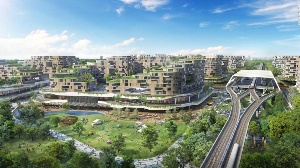 Así es la ciudad eco 'inteligente' que se construye en Singapur