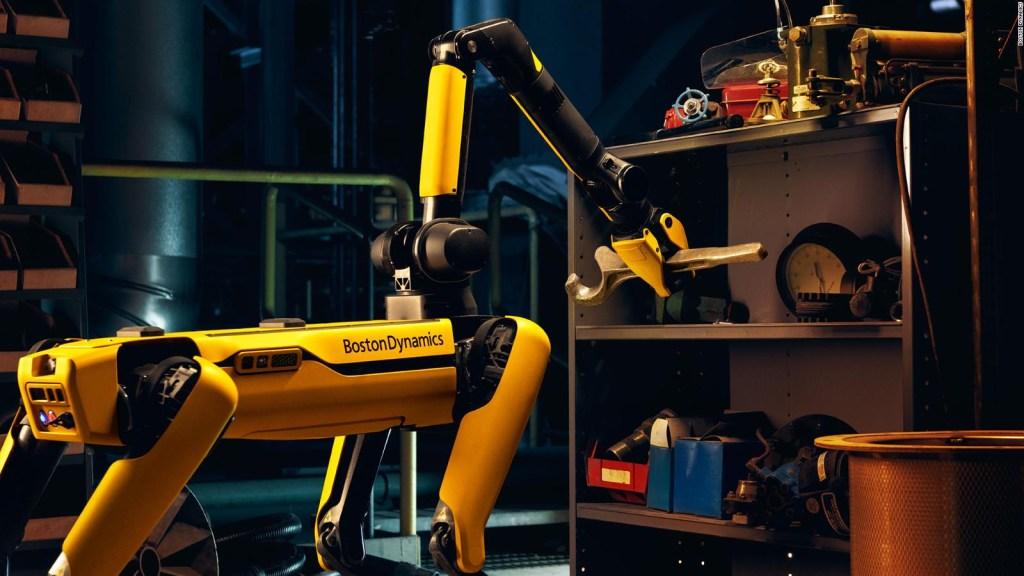 Estos son los nuevos trucos del perro robot Spot