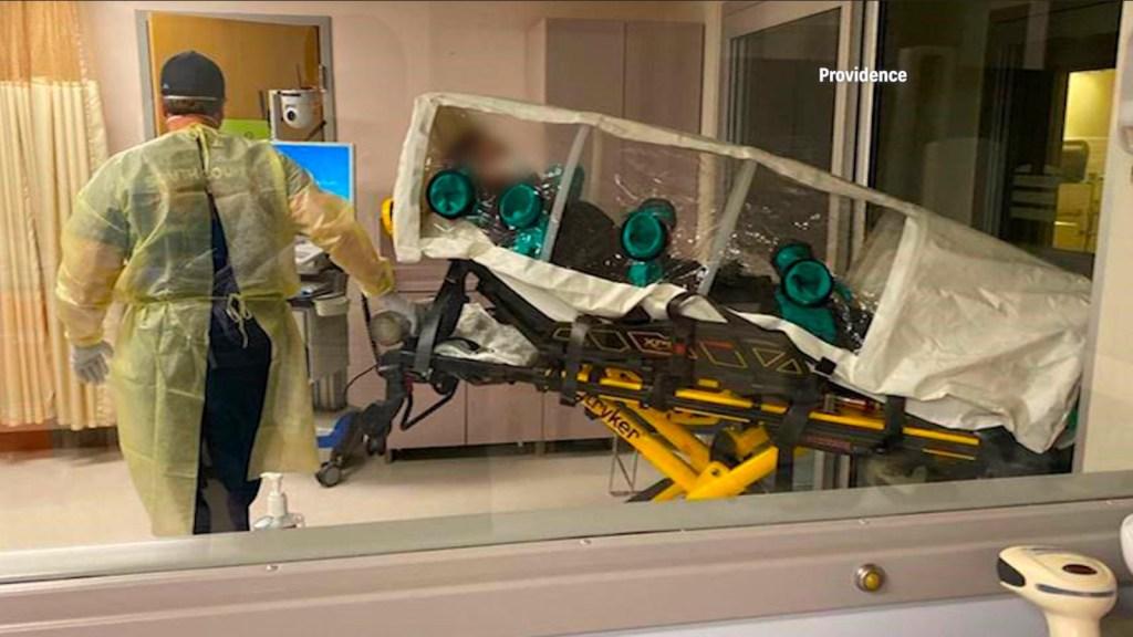 Así está ahora el primer paciente de covid-19 en EE.UU.