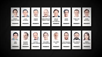 Ecuador nunca había tenido tantos candidatos en la boleta presidencial