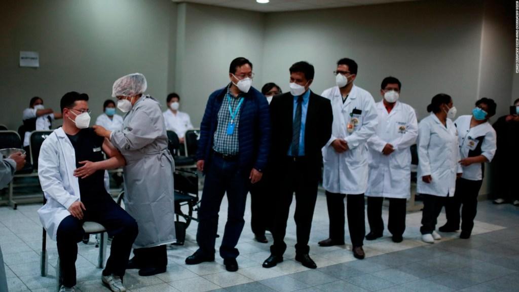 ¿Cómo avanza el plan de vacunación en Bolivia?