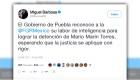 Miguel Barbosa: Detuvieron al exgobernador Mario Marín
