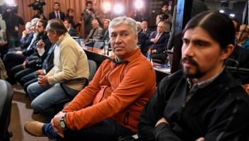 Argentina: Martín Báez se declaró inocente