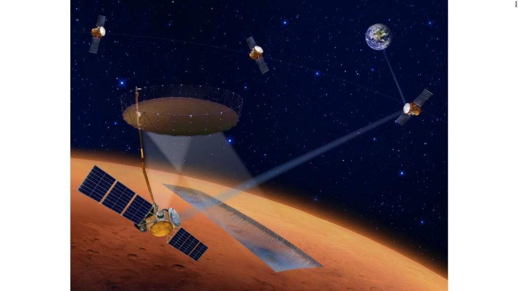 Indagheranno sui depositi di ghiaccio su Marte
