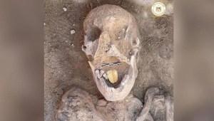 Arqueóloga dominicana descubre momias con lenguas de oro