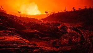 Un volcán puede ser la atracción turística en Hawai