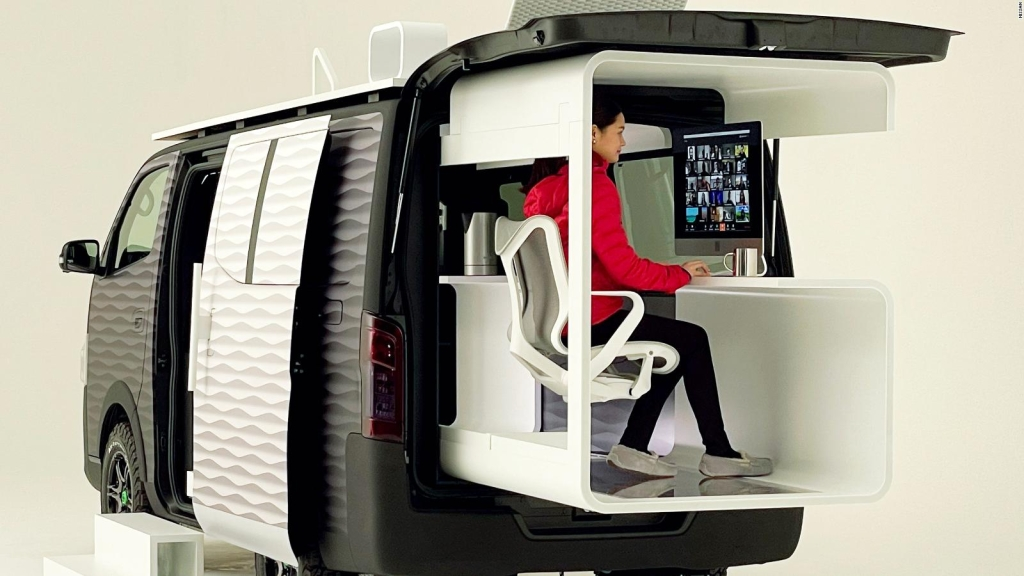 A mobile office to work from anywhere?