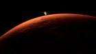 Primera imagen de Marte de la misión espacial de China
