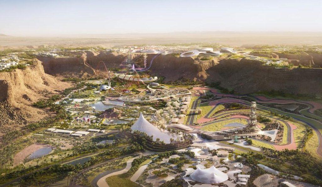 Construyen la montaña rusa más grande del mundo