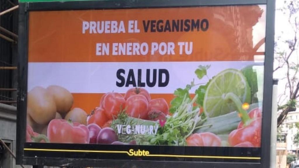 Argentina, de los países con más inscritos en Veganuary
