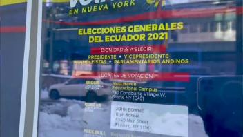Ecuatorianos en Nueva York hablan sobre las elecciones