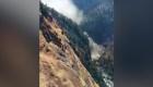 Video: la ruptura de una presa por el impacto de un glaciar