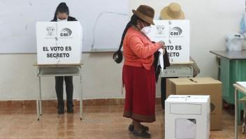 """Presidenta del CNE: """"Esperamos dar resultados en cuatro días"""""""