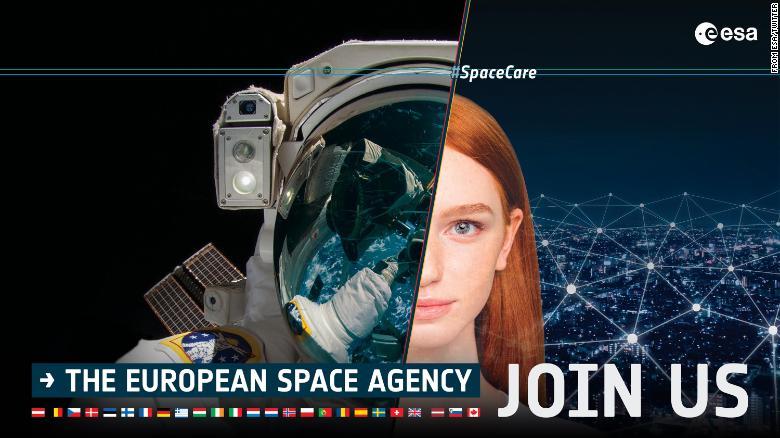 astronauta Agencia Espacial Europea