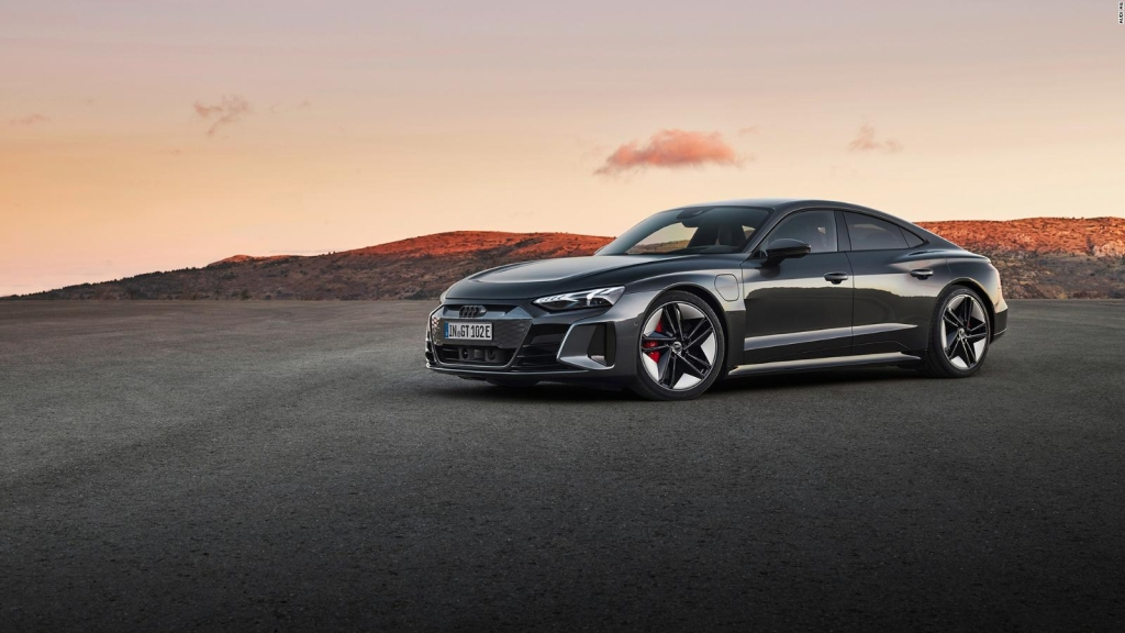 This is Audi's new luxury electric vehicle