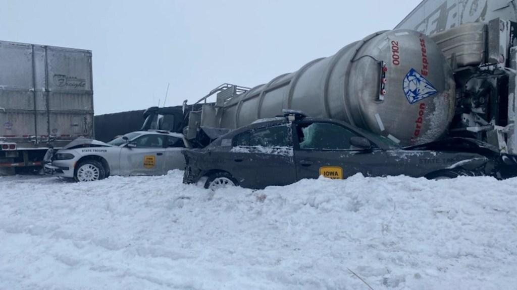 EE.UU.: nieve causa al menos 380 accidentes en Oklahoma
