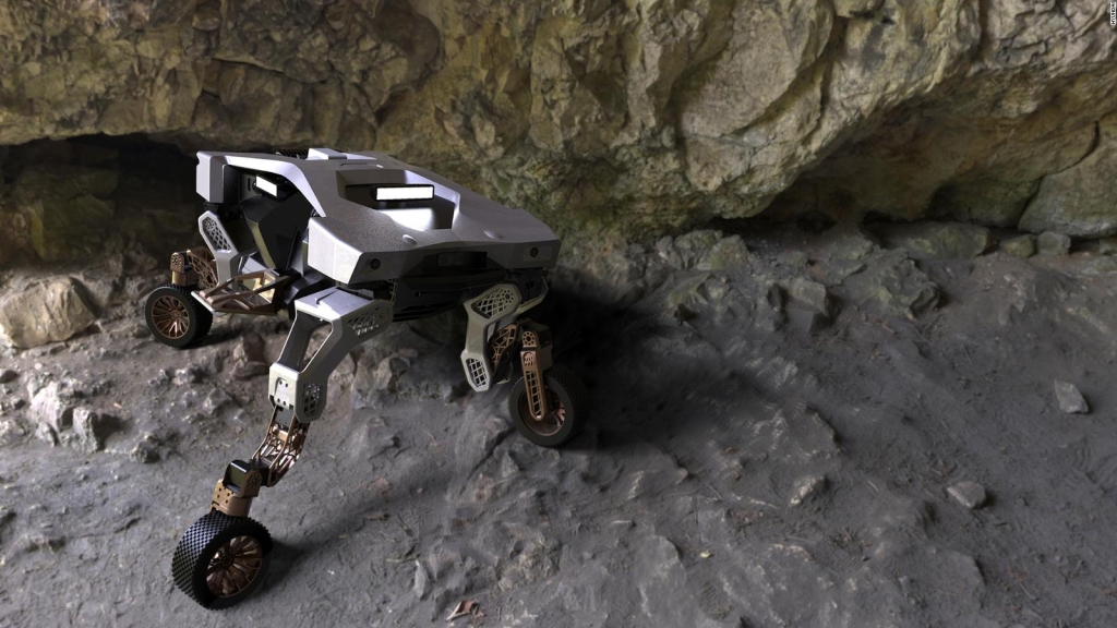 This is Tiger X-1, Hyundai's off-road robot