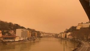 ¿Por qué el cielo se volvió naranja en el sur de Europa?