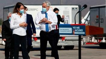 Piñera se vacunó contra el covid-19