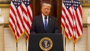 Republicanos deciden su futuro con juicio político a Trump