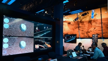 ¿Cómo ver en español el aterrizaje de la NASA en Marte?