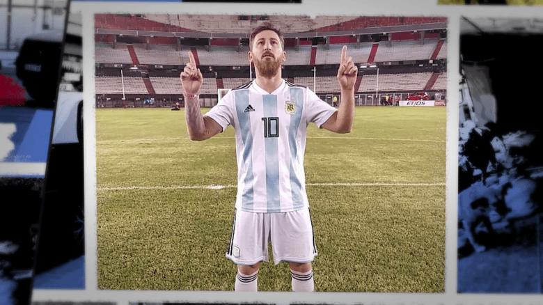 Así es la vida del doble argentino de Messi