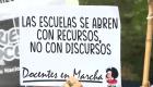 Docentes se oponen a clases presenciales en Argentina