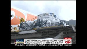 Vacuna Sputnik-V llega a Venezuela