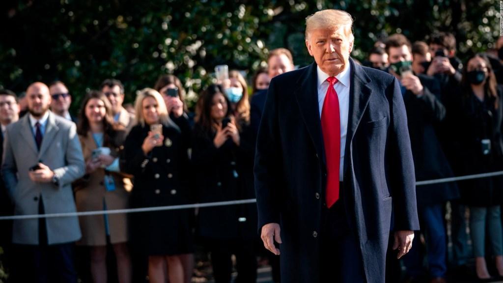 Trump, absuelto en segundo juicio político